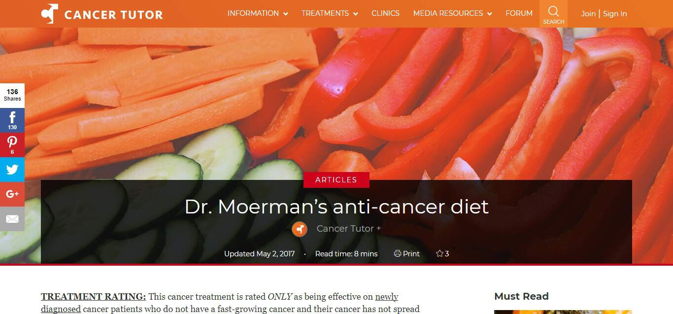 Moerman Diet - article 1