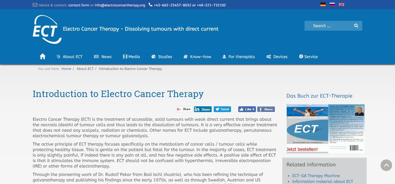 galvanotherapy - article 3